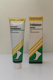 Laufwunder voetenbalsem groen, tube 75 ml