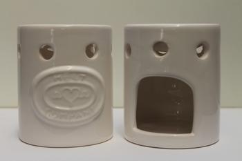 Meltcompany brander wit inclusief 3 soya wax melts