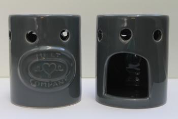 Meltcompany brander grijs inclusief 3 soya wax melts