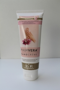 Puur Vera handcrème, tube 100 ml