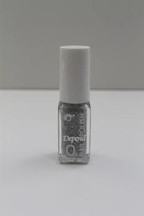 Depend O2 Nagellak Glitter zilver
